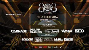 แจกบัตรฟรี 808 Festival 2016 จำนวน 10 ใบ