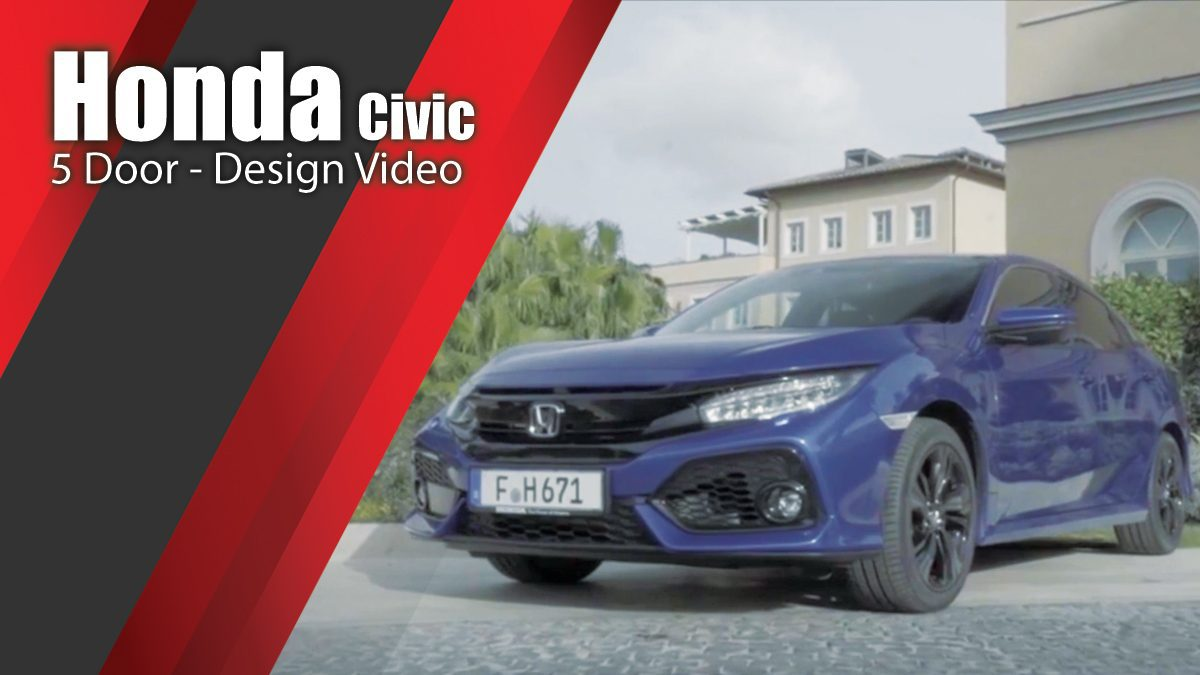 Honda Civic 5 Door - Design Video