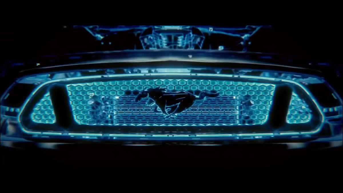 Ford Mustang Hybrid ในทีเซอร์โฆษณา มาแน่ในอีก 2ปีข้างหน้า(2020)