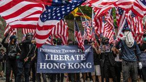สหรัฐฯ ผ่าน 3 ร่างกฎหมายสนับสนุน 'ม็อบฮ่องกง'