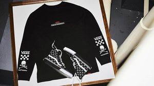 mastermind JAPAN x Vans Sk8-Hi ลวดลายหัวกะโหลกไขว้ ดุดันตามสไตล์!!