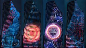 3D Mapping บน ตึกสูง 60 ชั้น…ครั้งแรกในเมืองไทย!!