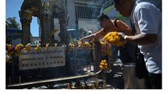 The Erawan Shrine Reopens Today