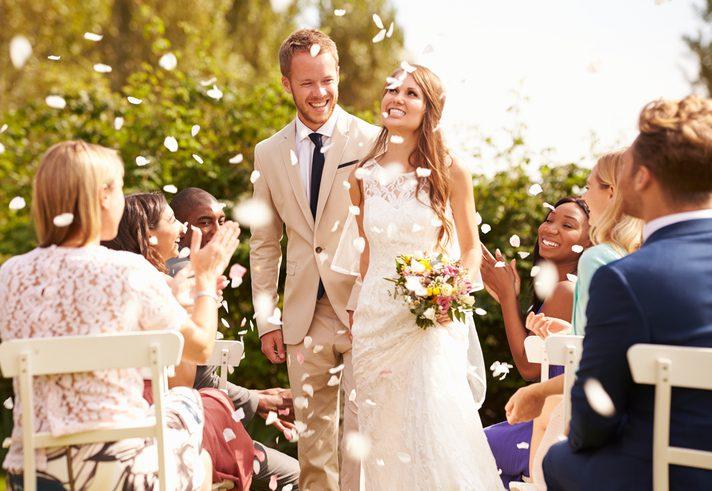 จัดงานแต่งในสวน