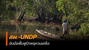 สผ. และ UNDP จับมือฟื้นฟูป่าพรุควนเคร็ง พื้นที่ชุ่มน้ำ รับมือภัยโลกร้อน