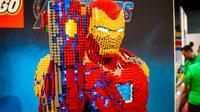 Iron Man ขนาดเท่าตัวจริงสุดอลังการสร้างจาก เลโก้ 35,119 ชิ้น
