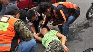 หนุ่มโพสต์ภาพสาว ก่อนวอนช่วยตามหา หลังเจ้าตัวขับรถชนจนบาดเจ็บ