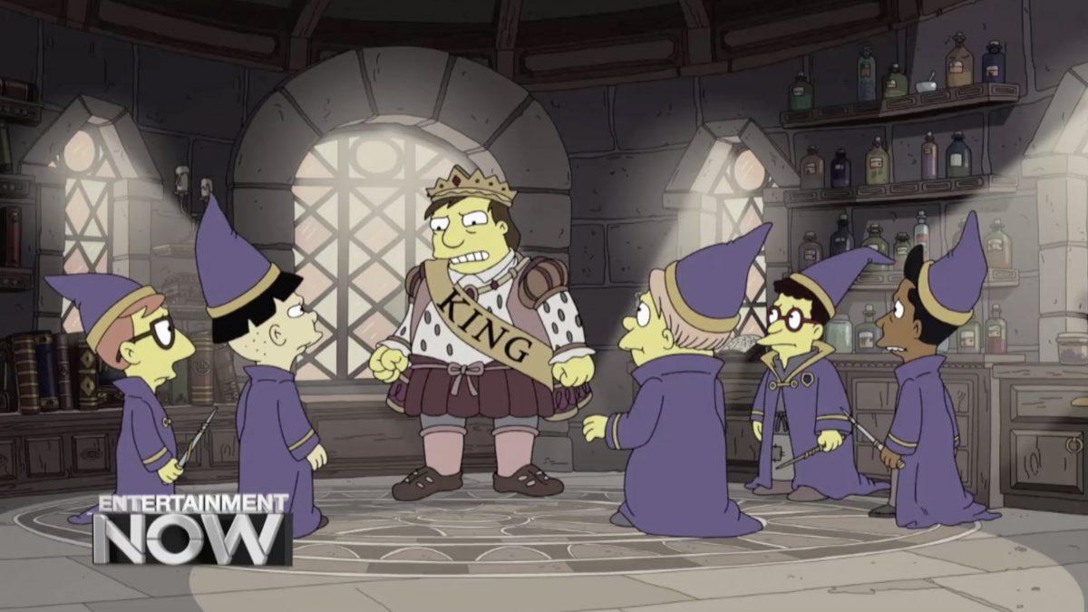 The Simpsons ซีซั่นใหม่เปิดตัวเอาฮาล้อเลียน Game of Thrones