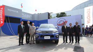 Toyota ประกาศความสำเร็จ ยอดการ ส่งออกรถยนต์ ในโครงการไอเอ็มวี (IMV) ครบ 3 ล้านคัน และ เริ่มการส่งออกรถกระบะไฮลักซ์ สู่ประเทศญี่ปุ่น