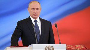 'วลาดิเมียร์ ปูติน' สาบานตนรับตำแหน่งประธานาธิบดี ต่ออีก 6 ปี