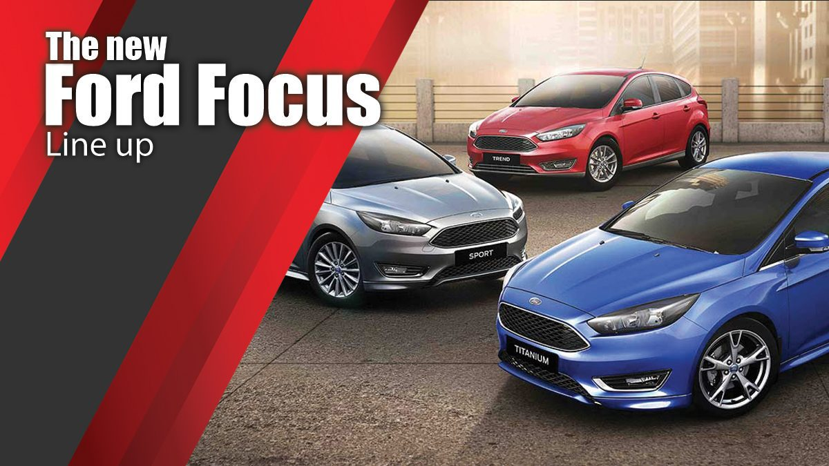The new Ford Focus Line up