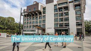 ทุนการศึกษาระดับปริญญาตรี จาก University of Canterbury
