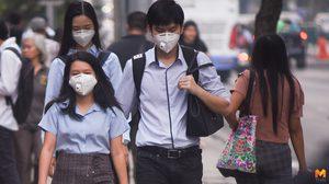 สถานการณ์ฝุ่น PM 2.5 ยังทรงตัว คนกรุงใส่หน้ากากป้องกันต่อเนื่อง