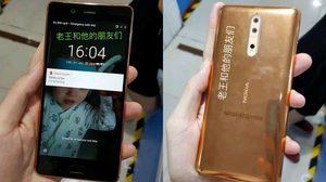 หลุดในมือ!! ภาพ Nokia 8 สีทอง Gold-copper