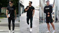 แฟชั่น All black style แมทช์ง่ายได้ทุกชุด