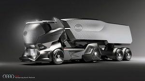 Audi HMW Concept รถบรรทุกแห่งอนาคต