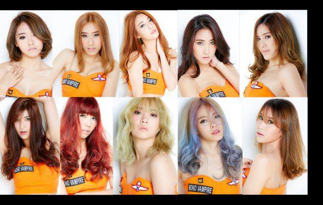 มาทำความรู้จักกับสมาชิกสาวสวย Mono Vampire Girls