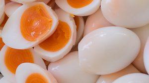เทคนิคการต้มไข่ ให้ไข่แดงเป็นวงปีเหมือนต้นไม้