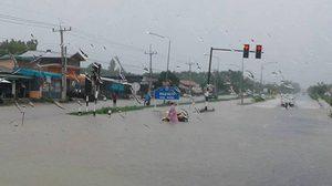 อุตุฯ เผยไทยฝนยังตกชุก หนักบางพื้นที่ ระวังน้ำท่วมฉับพลัน