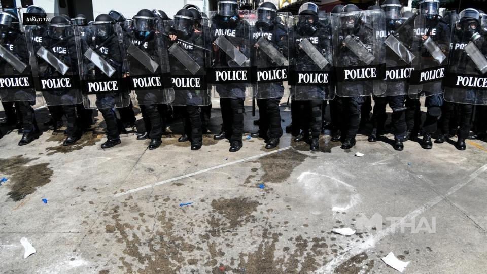 ตำรวจเตรียมกำลัง 4 กองร้อย รับมือม็อบไปบ้าน 'บิ๊กตู่' พรุ่งนี้