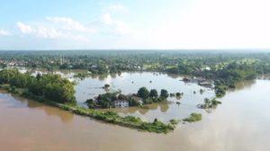 นครพนมยังวิกฤตแม่น้ำโขงเพิ่มสูง น้ำทะลักท่วมพื้นที่การเกษตร