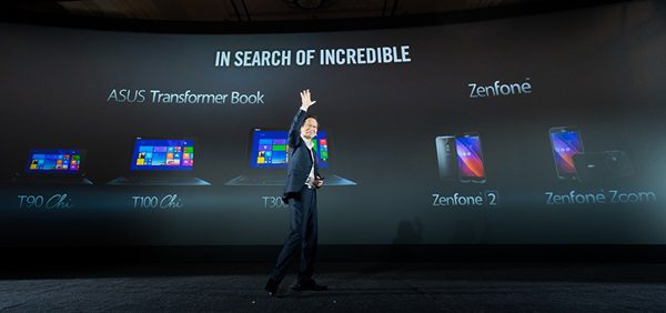 ASUS Chairman Jonney Shih introduced groudbreaking innovations at Experienc 2Morrow press event copy