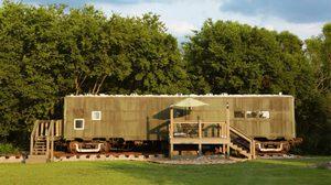 บ้านพักตากอากาศ Airbnb ที่รีโนเวทจากรถไฟสงครามโลกครั้งที่ 2