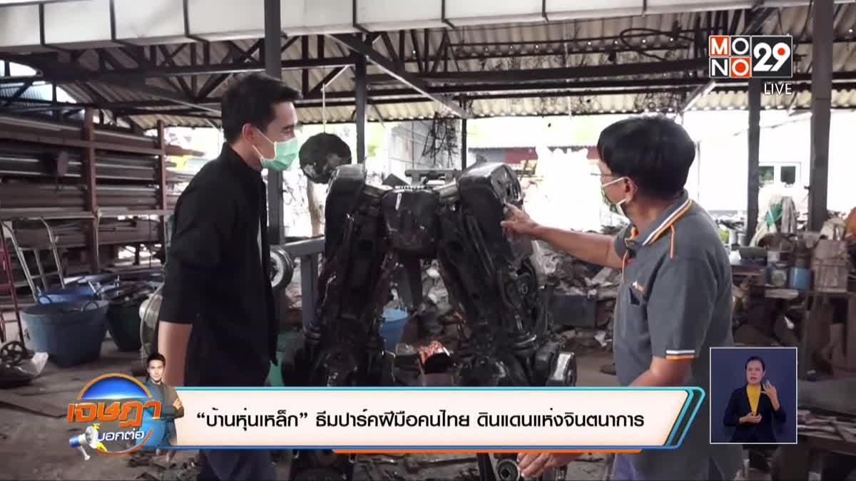 """""""บ้านหุ่นเหล็ก"""" ธีมปาร์คฝีมือคนไทย ดินแดนแห่งจินตนาการ"""
