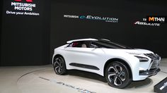 Mitsubishi จัดเเสดง e- Evolution Concept เเละ Mitsubishi Triton Absolute