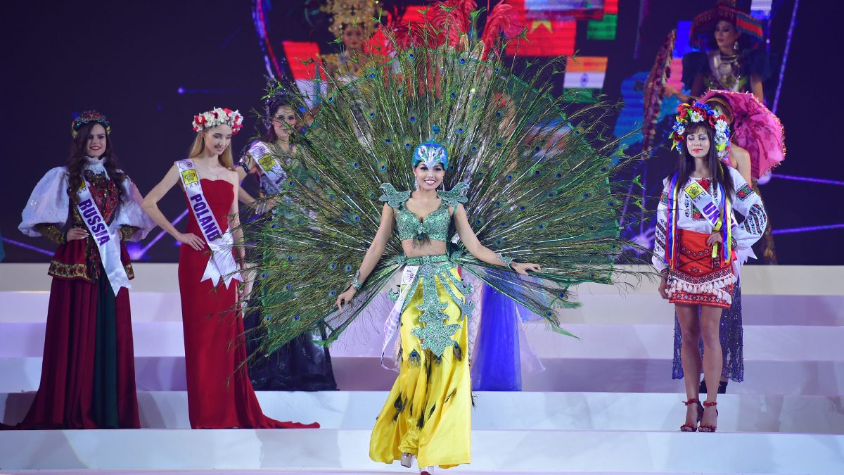 อลังการ ชุดประจำชาติ 55 สาวงาม Miss Tourism Queen International 2018