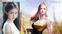 """หน้าเหมือนเวอร์ """"น้องโยชิ รินรดา"""" กับตัวละคร Priest ในเกม Cabal 2"""