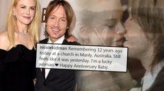 นิโคล คิดแมน แชร์คลิปวิดีโอวันแต่งงาน คีธ เออร์บัน ฉลองครบรอบชีวิตคู่ 12 ปี!