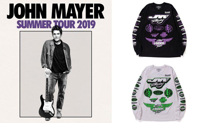 เสื้อทัวร์สวยๆ ของ John Mayer ที่ทำร่วมกับแบรนด์ NEIGHBORHOOD ส่งท้ายเอเชียทัวร์
