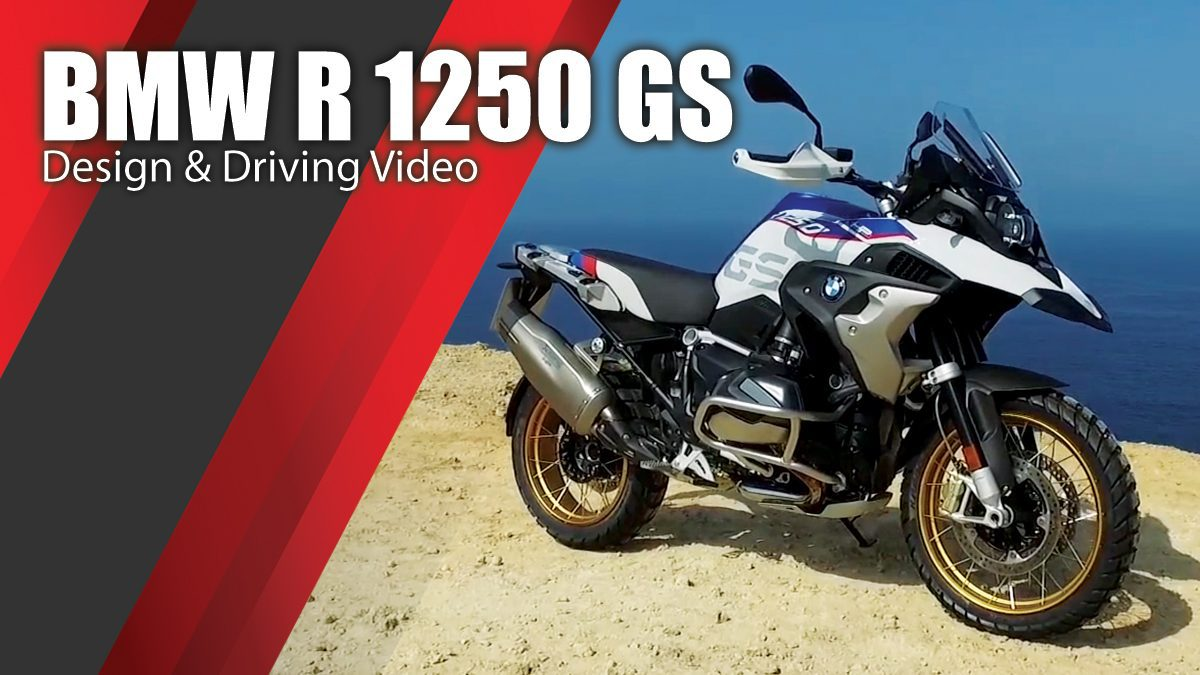 BMW R 1250 GS - Design & Driving Video
