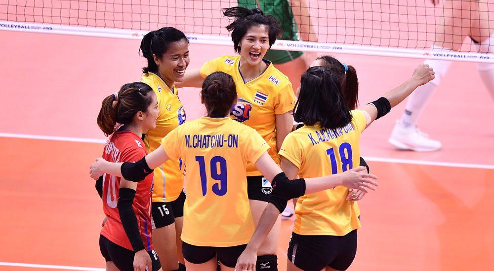 ลูกยางสาวไทย ประเดิมสนามที่กรุงเทพฯ สวย ตบ บัลแกเรีย 3-1 เซต ศึก เนชั่นส์ ลีก