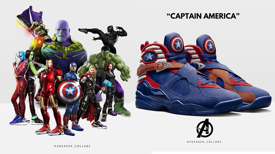 กิเลสมาเต็ม! รองเท้า Nike X Avengers ที่สาวก Marvel ต้องร้องซี้ดส์