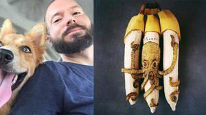 เทพแห่งกล้วย! Stephan Brusche ศิลปินผู้เปลี่ยนกล้วยบ้านๆ เป็นศิลปะชั้นยอด