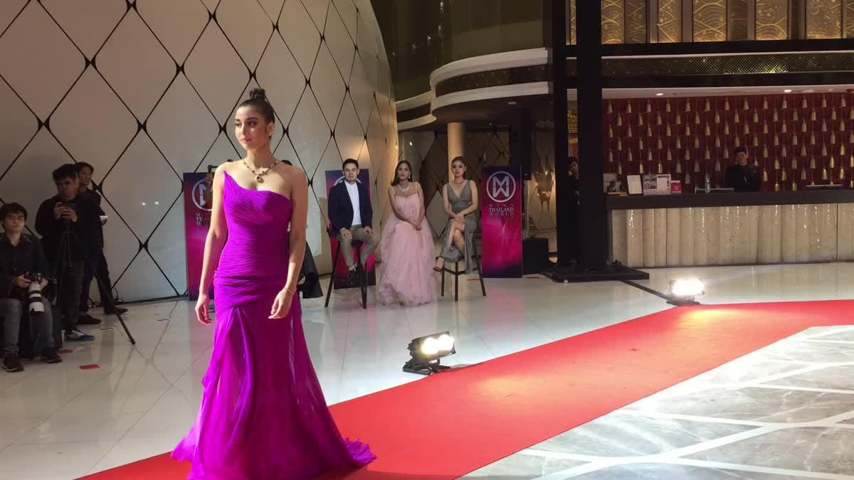 เลอค่ามาก! 6 สาวผู้เข้าประกวด มิสไทยแลนด์เวิลด์ 2018 เดินแบบเครื่องประดับอัญมณีสุดอลังการ