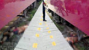 สลด! รถไฟทับร่างชายวัย 60 ดับคาที่ บริเวณสถานีบางซื่อ