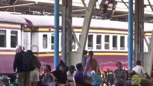 รฟท.เพิ่มขบวนรถไฟ รองรับประชาชนเดินทางปีใหม่
