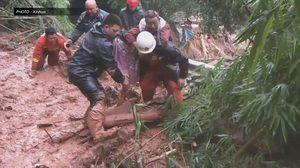 ฝนถล่มหลายมณฑลของจีน ยกระดับเตือนภัย เฝ้าระวังน้ำท่วม-ดินถล่ม