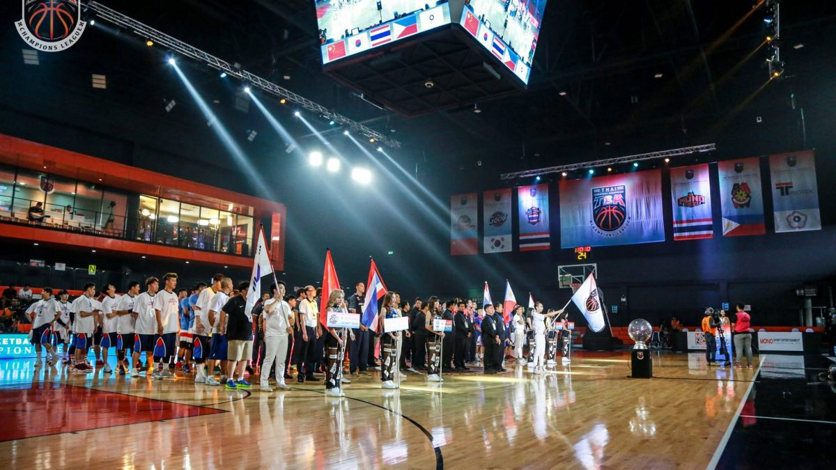 พิธีเปิดการเเข่งขันบาสเกตบอล Thai Basketball Association Champions League (TBA)