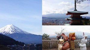 เที่ยว Kawaguchiko ชมฟูจิ, เจดีย์แดง, กระเช้า kachi kachi Rope way และอื่นๆ ใน 2 วัน