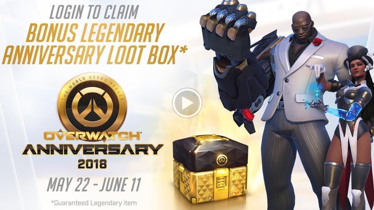 [ตัวอย่างเกม] Overwatch Anniversary 2018 กิจกรรมครบรอบ 2 ปี