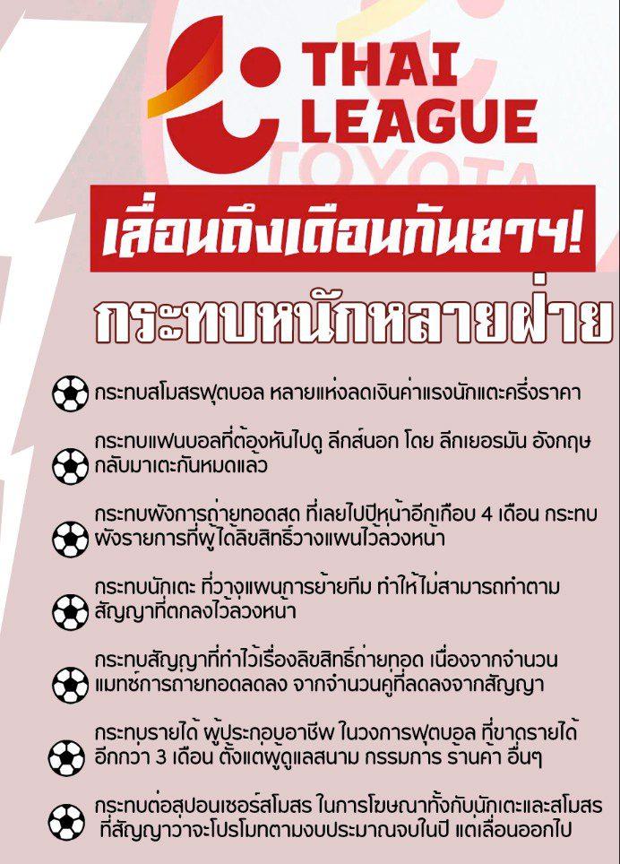 ฟุตบอลลีกเมืองไทย ทางออกที่พึงกระทำ ก่อนจะยากจนเกินจะแก้ไข!