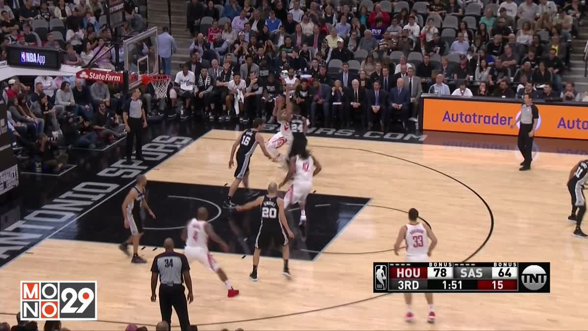 Highlight Houston RocketsVS SanAntonio Spurs