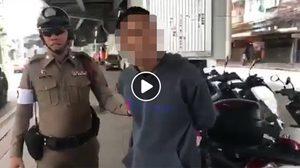 วิจารณ์แซด คลิปหนุ่มด่าตำรวจยับ เหตุฉุนถูกจับไม่มีใบขับขี่