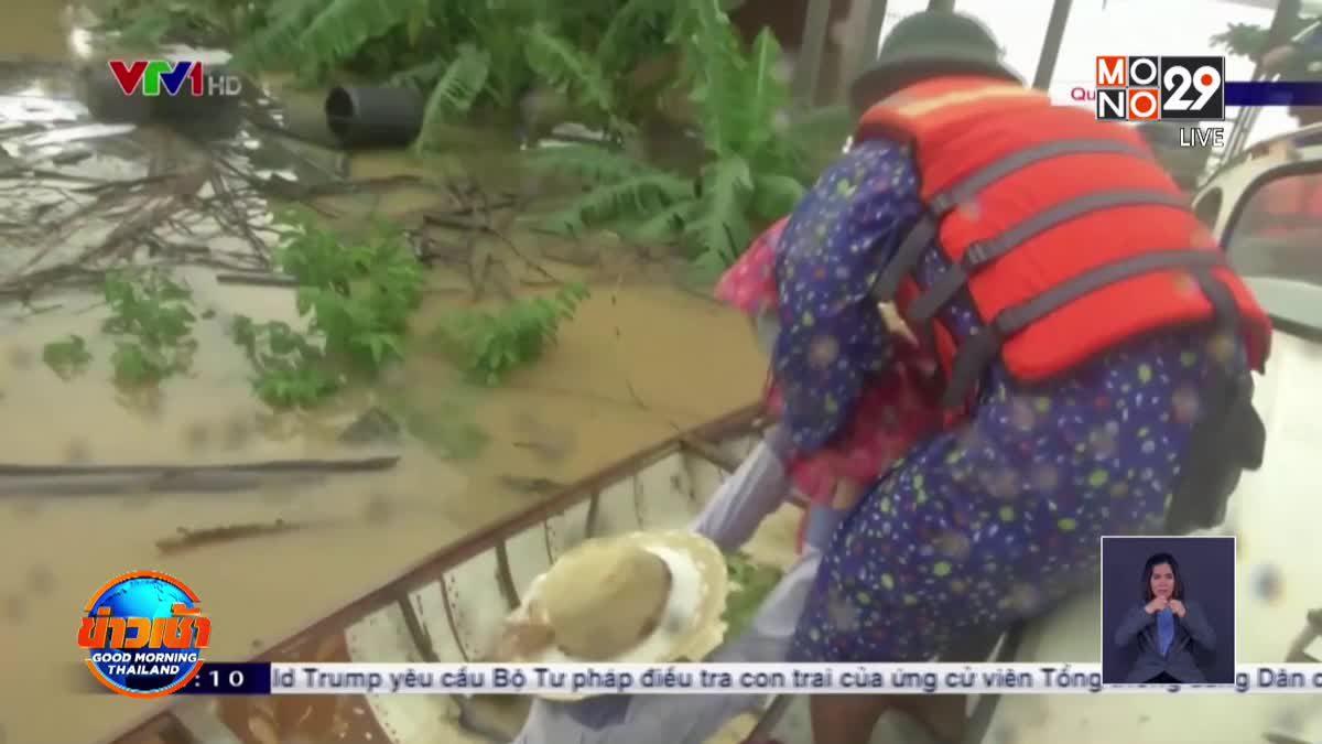 """เวียดนามเร่งอพยพคน ก่อนพายุ """"โซเดล"""" ถล่ม"""