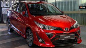 Toyota Vios 2019 ใหม่ เปิดตัวที่มาเลเซีย ด้วยราคาเริ่มต้น 591,000 บาท