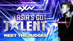 เจย์ ปาร์ค นั่งเก้าอี้กรรมการคนใหม่ของ Asia's Got Talent